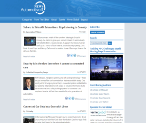 Automotive IT News is a Content Curation News Site created with the Curata platform by Megan Bozman